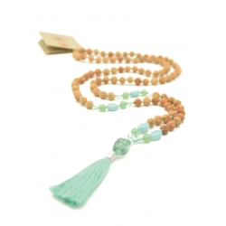 Green Spirit Mala Collar