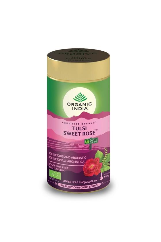 Tulsi Sweet Rose Tin 100g