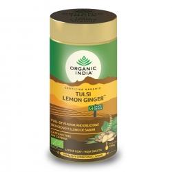 Tulsi Lemon Ginger Tin 100g