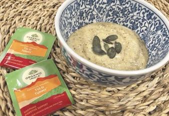 Porridge de Polenta & Tulsi Tummy